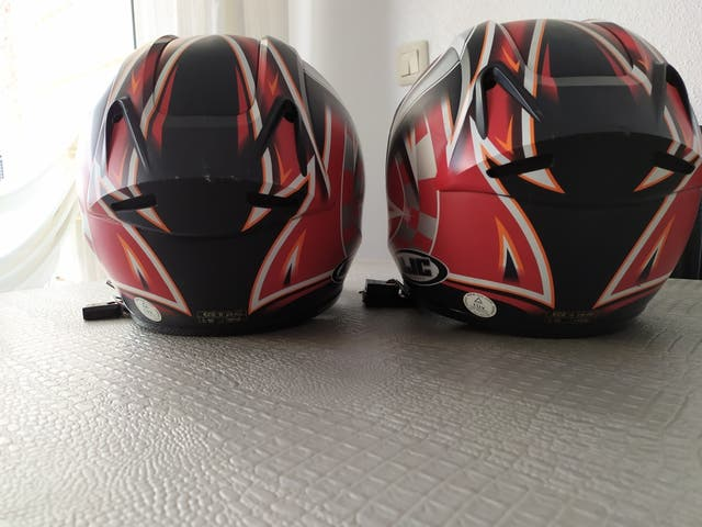 cascos moto hjc
