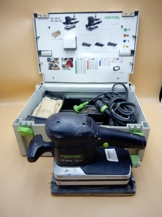 LIJADORA VIBRATORIA FESTOOL RS 100 Q-PLUS.
