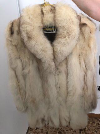 Abrigo chaquetón Zorro Autentico