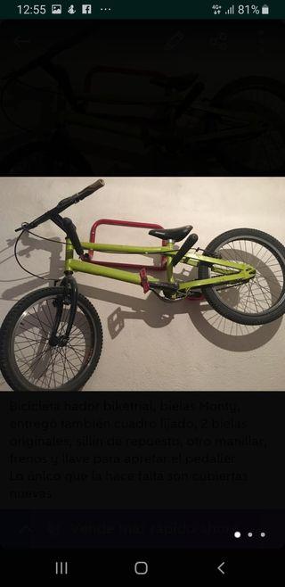 Bicicleta trial hador
