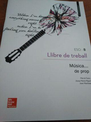 Libro Treball de Musica
