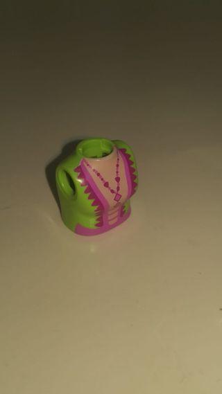 torso playmobil mujer 46