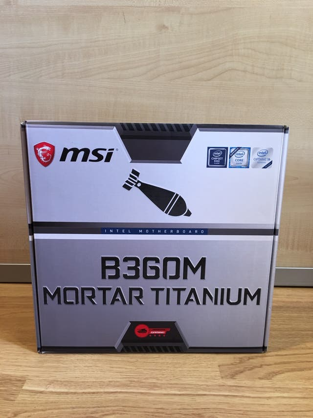 PLACA BASE MSI B360M