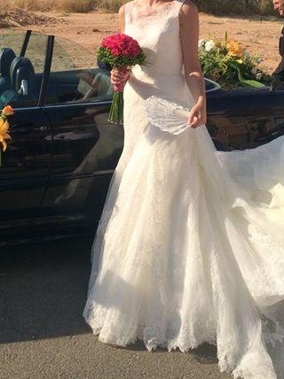 076462a67 Vestido de novia talla 38 de segunda mano en Pinto en WALLAPOP