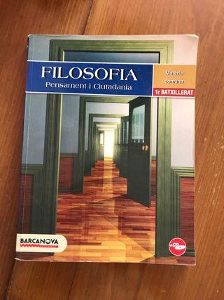 LIBRO FILOSOFIA 1BACH, barcanova