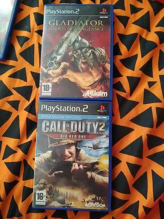 Pack 9 videojuegos PlayStation 2