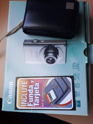 Cámara canon digital IXUS 85 IS