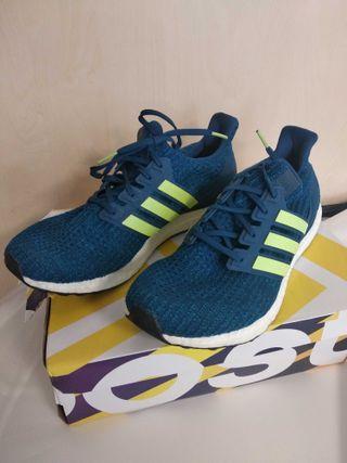 Zapatillas Adidas Ultra Boost azul talla 45-11 US