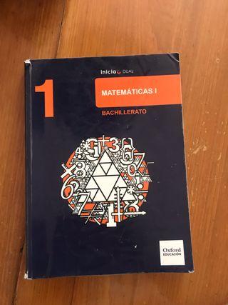 LIBRO de MATEMATICAS oxford BACH1