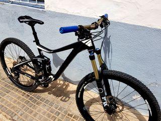 bicicleta montaña giant trance