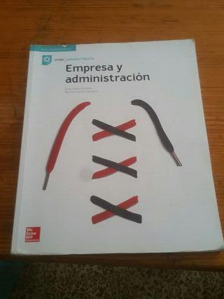 Libro FP Grado Medio I de administración.