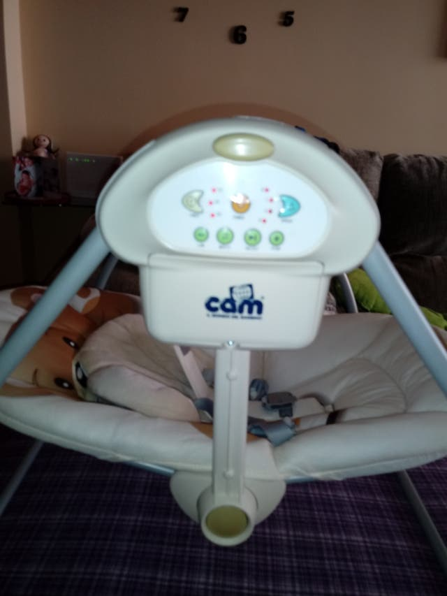 columpio bebé eléctrico