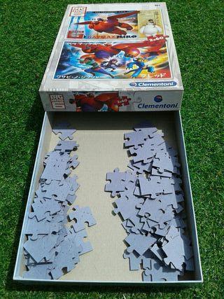 Puzzles 2 en 1 BIG HERO 6 de 60 piezas