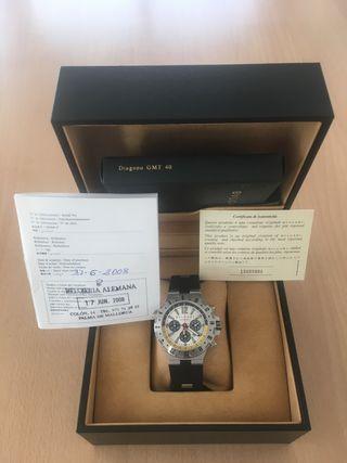 Reloj Bulgari Diagono Scuba GMT Cronógrafo