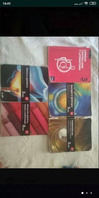 libros 3° de ESO Huerta salama