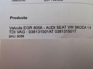 Valvula EGR nueva audi vw seat skoda tdi ASZ