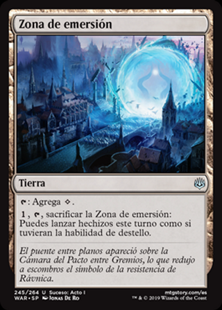 Zona de emersión - MTG - CARTAS MAGIC - X1