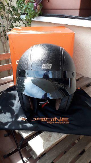 Casco jet custom cafe racer ORIGINE M nuevo