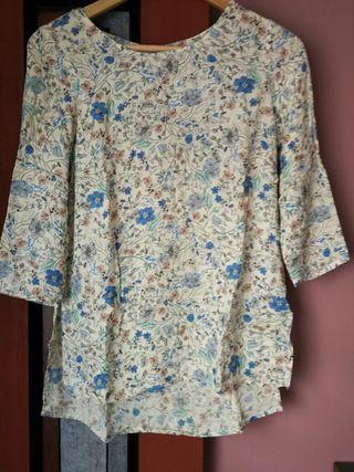 blusa del stradivarius