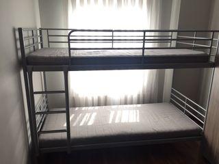 Litera doble metálica IKEA