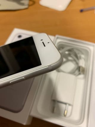iPhone 7 128gb blanco/plata