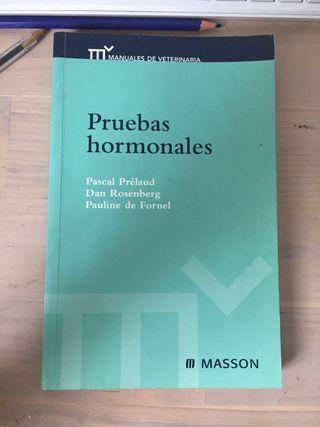 """Manual veterinario """" Pruebas Hormonales"""""""