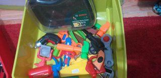 herramientas de niños