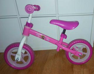 Bicicleta sin pedales para niñas de 2 a 4 años