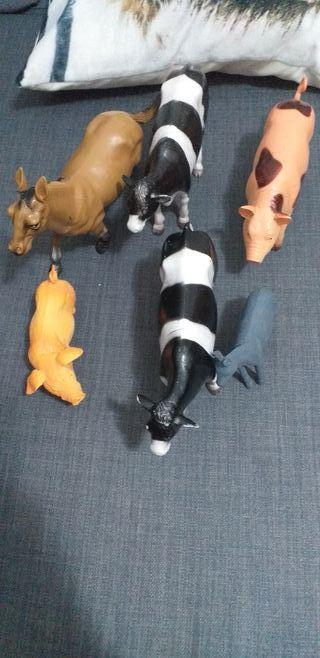 animales plastico