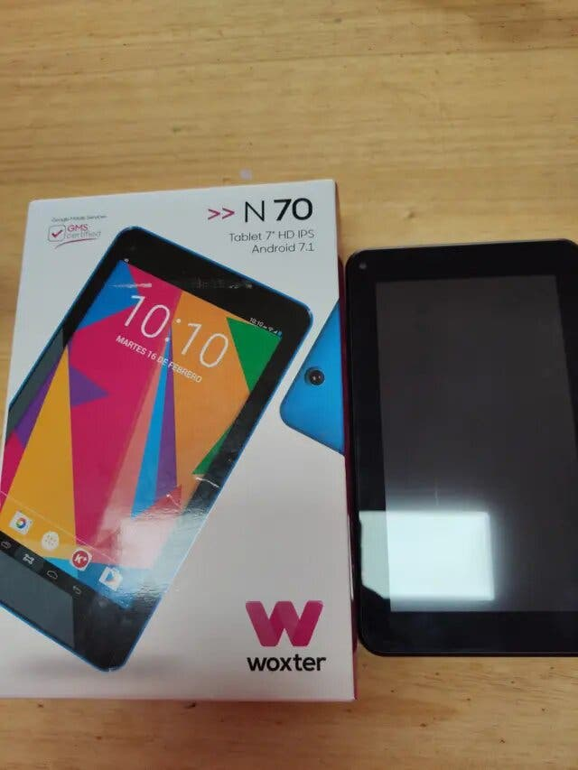 Tablet 7 pulgadas Woxter Negra