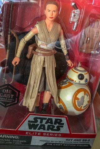 Star Wars. Rey y BB-8. Elite Series