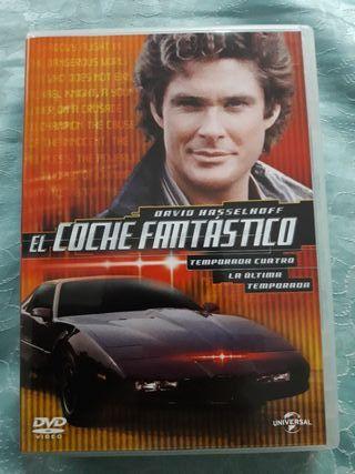 DVD el coche fantastico 4 temporada completa