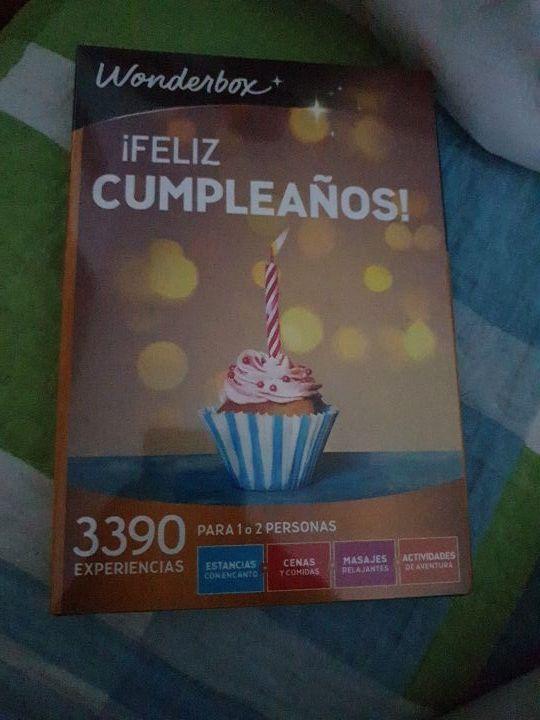 WONDERBOX Caja Regalo -¡Feliz CUMPLEAÑOS!- 3.390 e