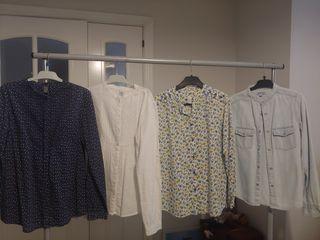 4 Blusas Zara y Gocco x20€