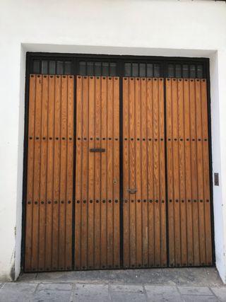 Puerta para garaje, nave, etc...