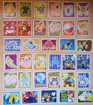 95 cromos de pokemon