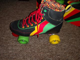 vintage colors skates
