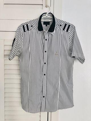 Les Hommes camisa de manga corta