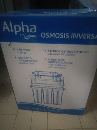Se vende Equipo osmosis inversa