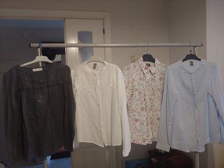 4 Blusas Zara y Gocco x 20€