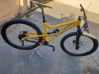 bicicleta doble 29 carbon