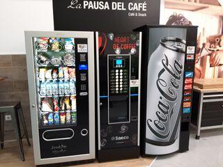 se instalan maquinas expendedoras café,refrescos,s