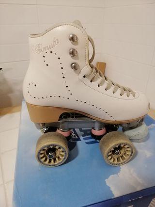 Patines para patinaje artistico
