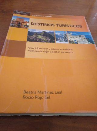 Libro Destinos Turisticos