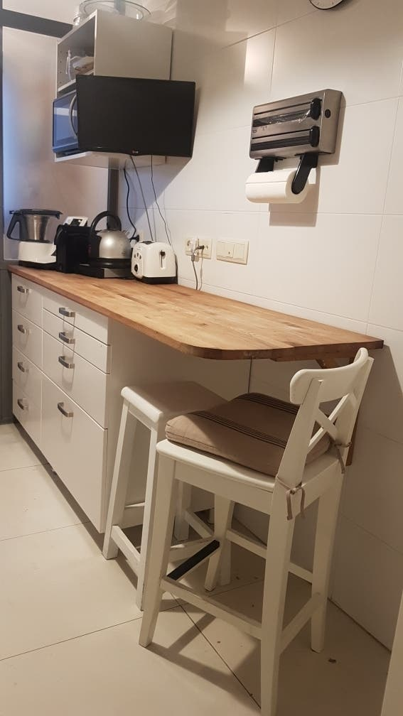 Muebles cocina de segunda mano por 350 € en Madrid en WALLAPOP