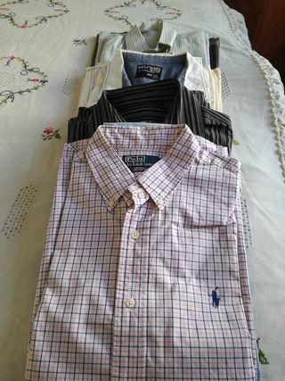 Camisas de caballero.