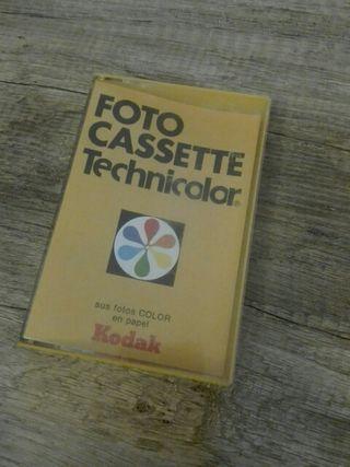 Funda cassete kodak technicolor