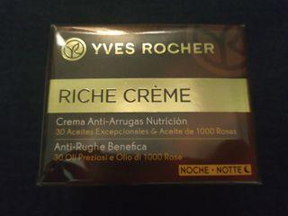 Riche creme Yves Rocher noche crema nueva