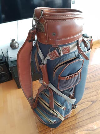 Bolso antiguo palos de golf