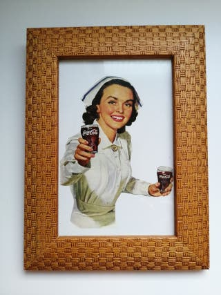 Cuadro Coca Cola vintage